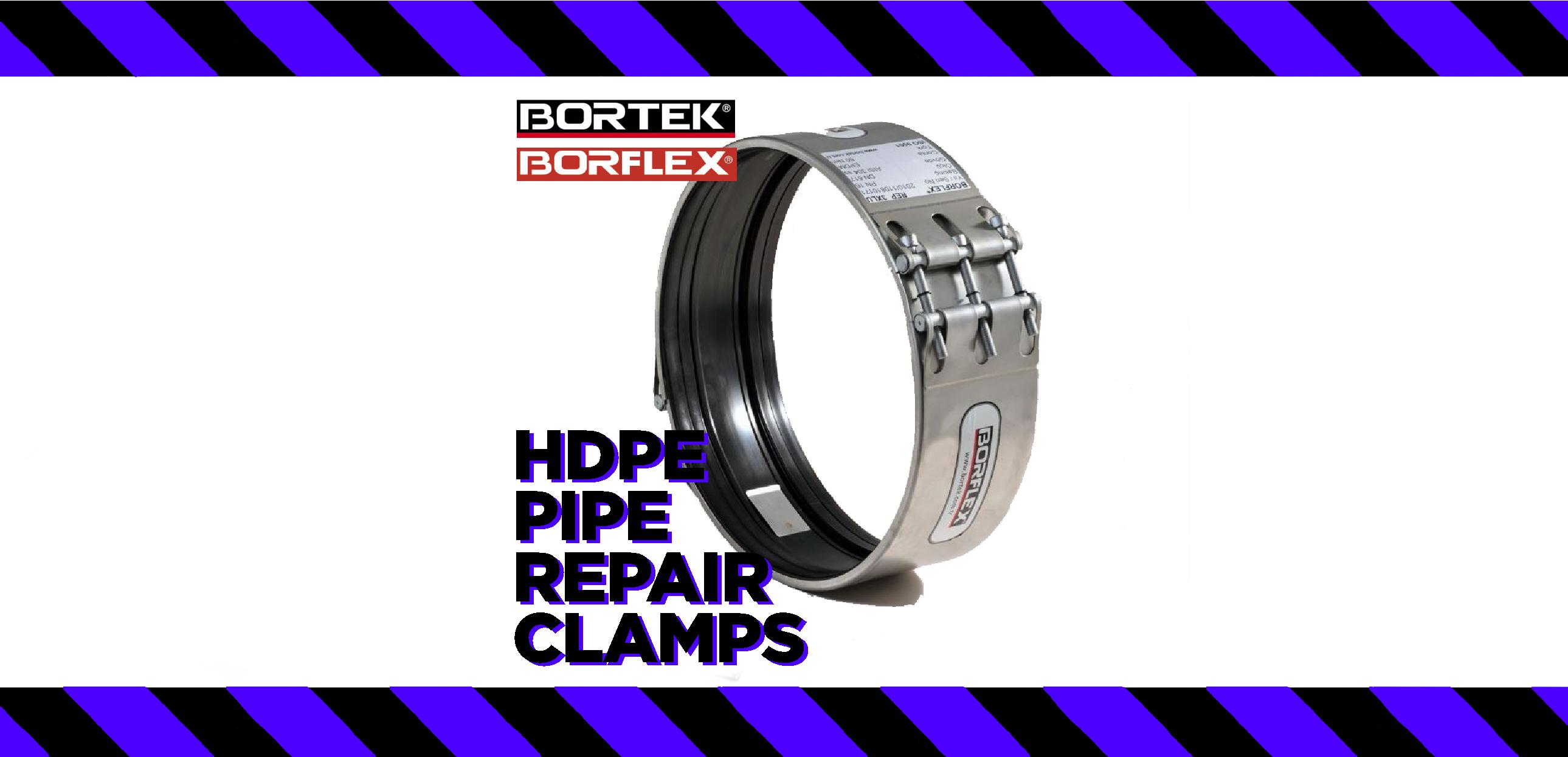 HDPE Pipe Repair Clamps